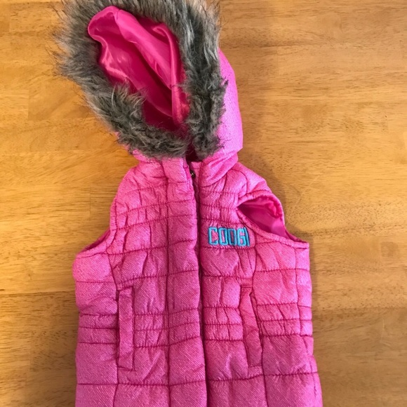 Outerwear Clothing, Shoes & Accessories Amicable Nwt Girls Pink Faux Fur Hooded Jacket Size 9 12 Months